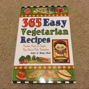 365 Easy Vegetarian Recipes cook book